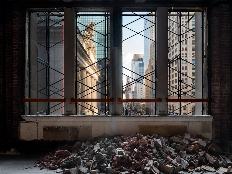 <p>Demolition of 48 E 43rd St</p>                  <p>New York City</p>                  <p>September 2015</p>