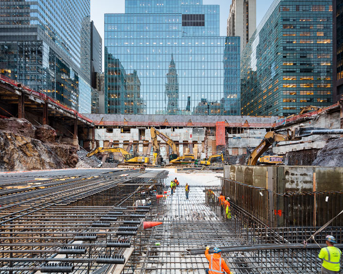 <p>Demolished Steel Beam</p>                  <p>New York City</p>                  <p>July 2016</p>