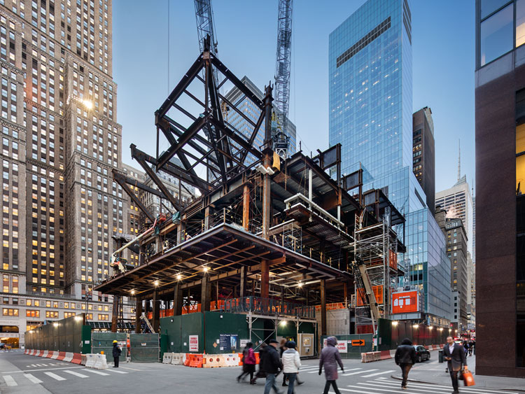 <p>Construction on Ground Floor</p>                  <p>New York City</p>                  <p>October 2017</p>